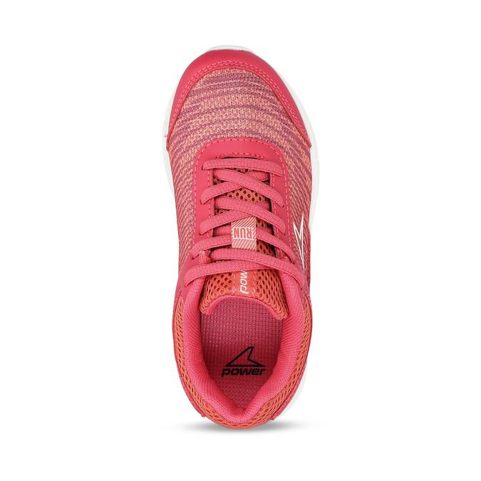 Tmavě oranžové dívčí sportovní tenisky power, růžová, 309-5530 - 17