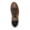 Pánské hnědé ležérní tenisky s prošitím bata, hnědá, 846-3606 - 17