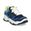Modré dětské tenisky ve sportovním stylu mini-b, modrá, 419-9623 - 13