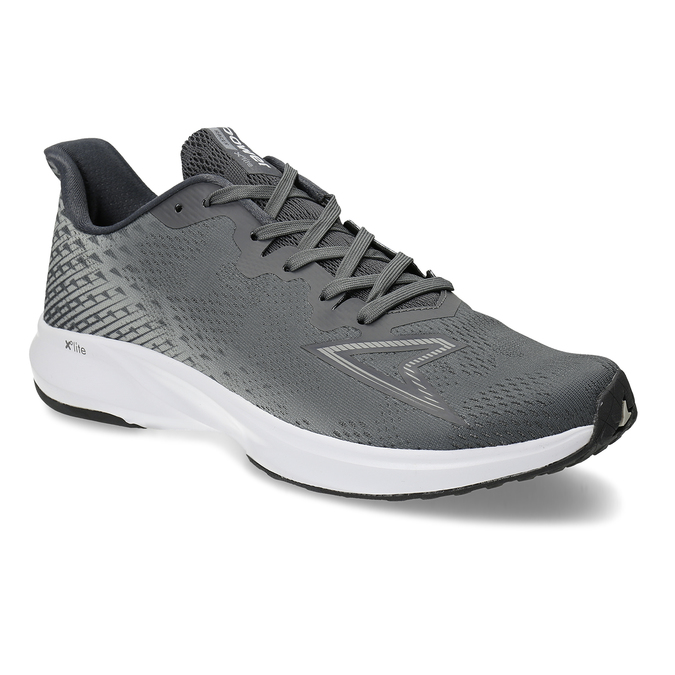 Pánská šedá běžecká obuv power, šedá, 809-2586 - 13