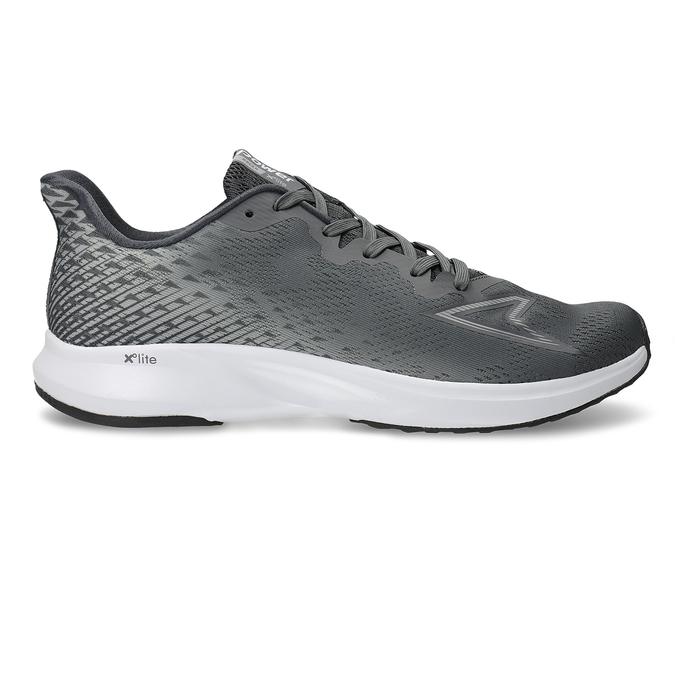 Pánská šedá běžecká obuv power, šedá, 809-2586 - 19