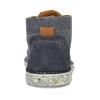 Pánská kožená kotníková eko obuv s korkem weinbrenner-nature, modrá, 829-9618 - 15