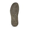 Tmavě hnědé kožené neformální polobotky bata, hnědá, 846-3603 - 18