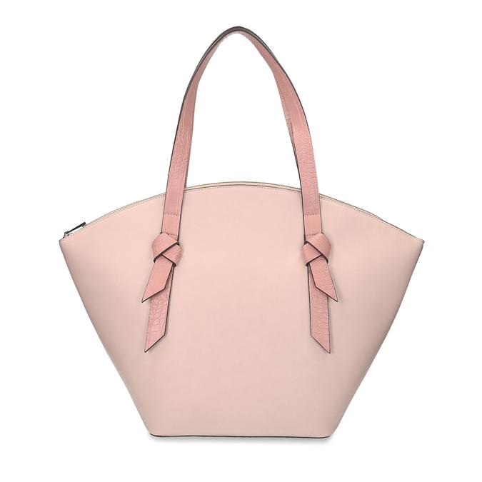 Růžová dámská kabelka přes rameno bata-red-label, růžová, 961-8632 - 26