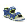 Dětské modré kožené sandály na suchý zip weinbrenner, modrá, 263-9604 - 13