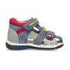 Dětské modré sandály na suché zipy bubblegummers, modrá, 161-9619 - 19