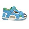 Modré dětské sandály se zelenými detaily bubblegummers, modrá, 161-9618 - 19