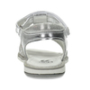 Stříbrné páskové sandály dívčí mini-b, stříbrná, 361-1615 - 15