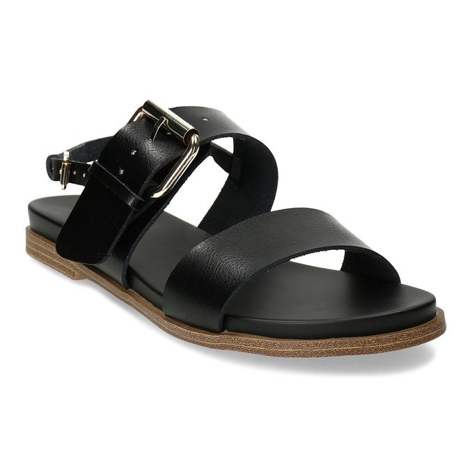 Dámské černé sandály bata, černá, 561-6621 - 13