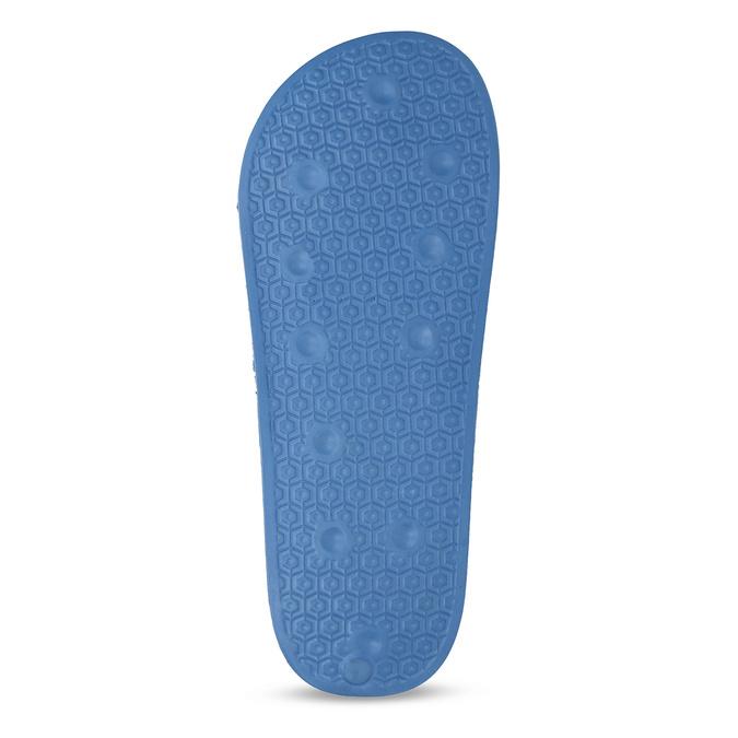 Modré chlapecké pantofle pata-pata, modrá, 479-9600 - 18