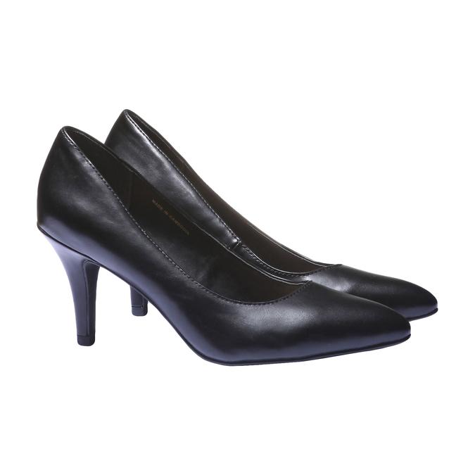 Lodičky na vysokém podpatku bata, černá, 2018-721-6290 - 26