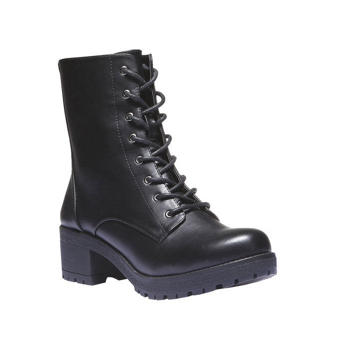 Kotníčková obuv s masivní podešví bata, 2020-691-6147 - 13