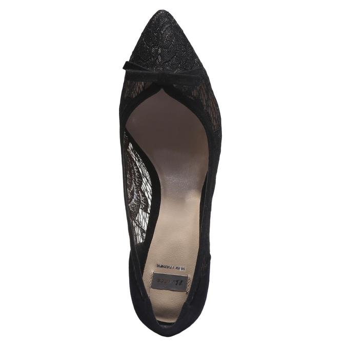 Lodičky s transparentní krajkou bata, 2019-629-6232 - 19