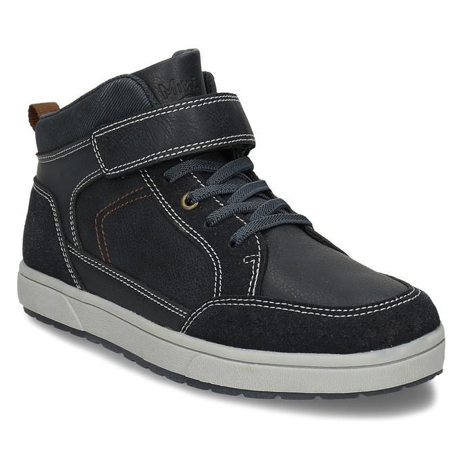 Dětská kotníková obuv černá mini-b, modrá, 311-9601 - 13