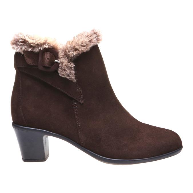 Roxy - kotníčková obuv, hnědá, 2018-693-4106 - 26