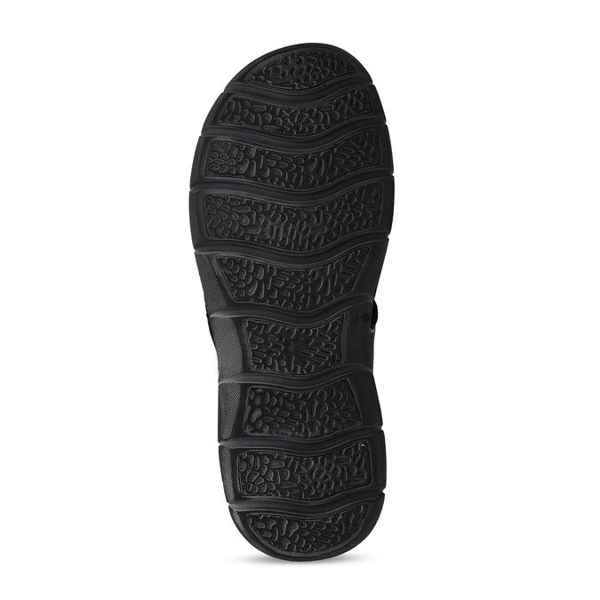Pánské kožené sandály na suchý zip weinbrenner, modrá, 866-9603 - 18