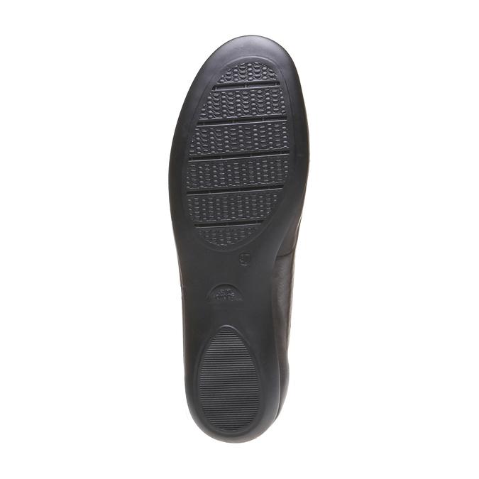 Roxy - nízká obuv bata, hnědá, 2018-514-4123 - 18