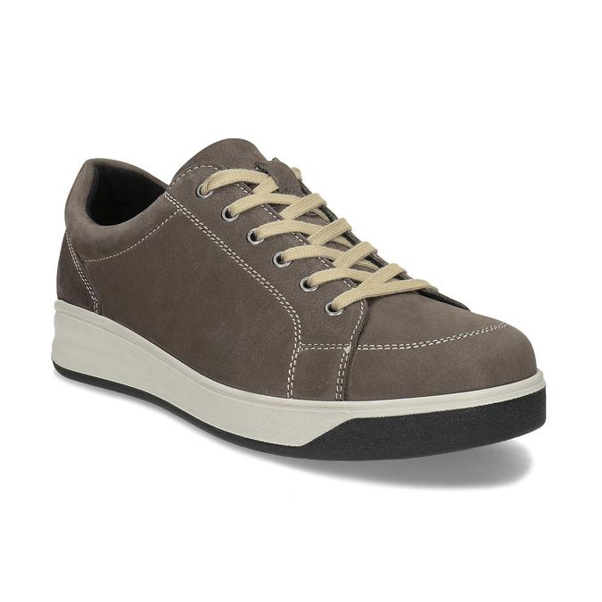 Pánská zdravotní obuv medi, hnědá, 856-4606 - 13