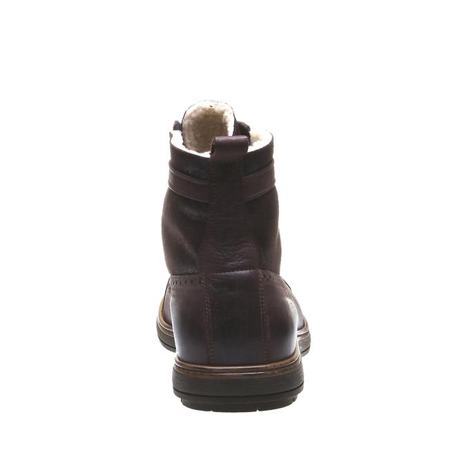 Andrew - kotníčková obuv v Brogue designu bata, 2019-894-4691 - 17