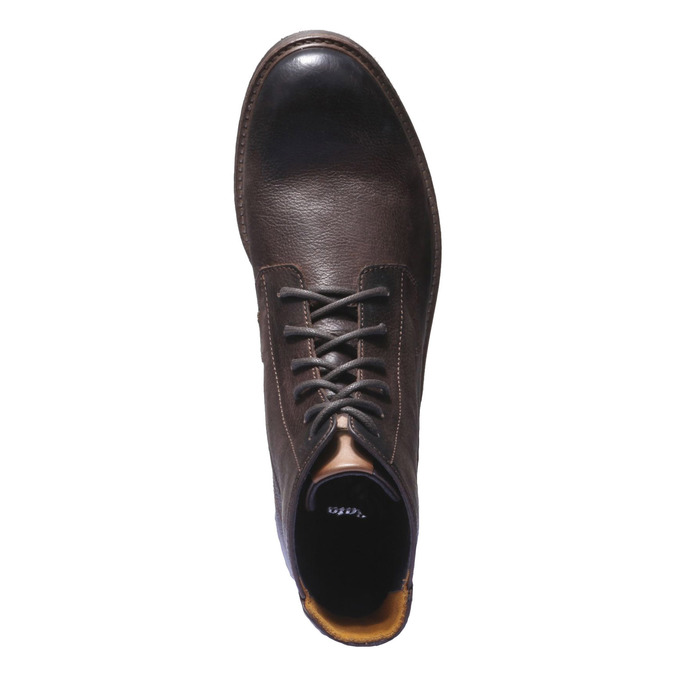 Pánské kožené polobotky bata, 2019-894-4106 - 19