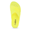 Neonově žluté dámské pantofle pata-pata, žlutá, 572-8617 - 17