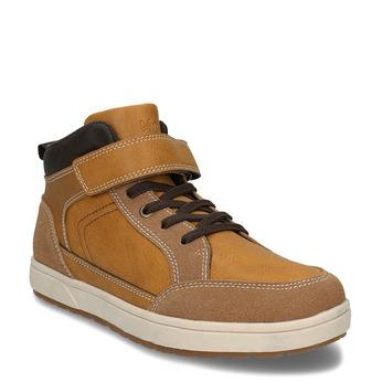 Dětská kotníková obuv hnědá mini-b, hnědá, 311-4601 - 13