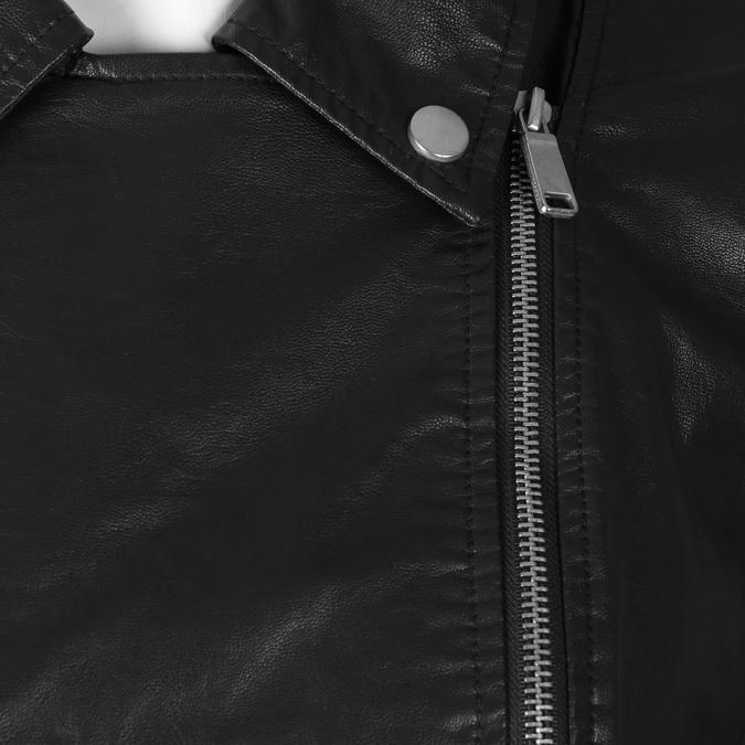 Koženková dámská bunda bata, černá, 971-6264 - 16
