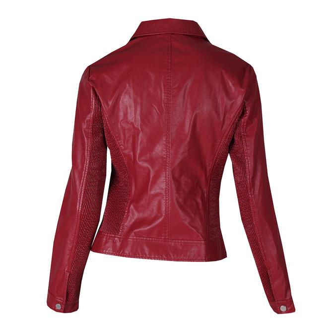 Dámský červený koženkový křivák bata, červená, 971-5264 - 26
