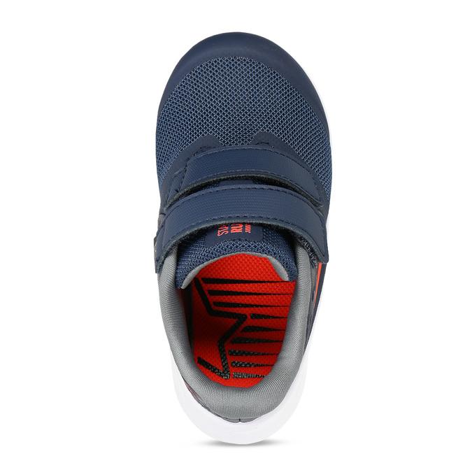 Dětské modré tenisky na suchý zip nike, černá, 109-9319 - 17