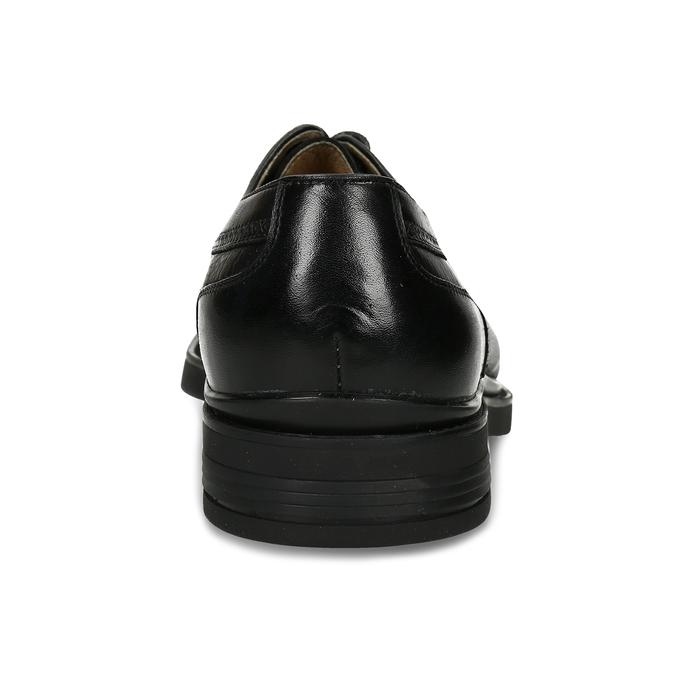 Černá pánská chelsea obuv v kůži bata, černá, 824-6716 - 15