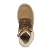 Světle hnědá chlapecká kotníková obuv mini-b, hnědá, 211-4612 - 17