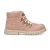 Růžová dívčí kotníková obuv s hvězdičkami mini-b, růžová, 221-5611 - 19