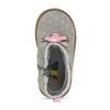 Kotníková dětská obuv s puntíky bubblegummers, šedá, 124-2725 - 17