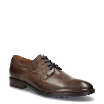 Pánské kožené ležérní polobotky bata, hnědá, 826-4612 - 13