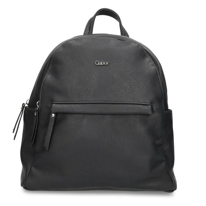 Dámský koženkový batoh v černé barvě gabor, černá, 961-6880 - 26