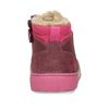Růžová dívčí kotníková zimní obuv s kožíškem bubblegummers, fialová, 191-9604 - 15
