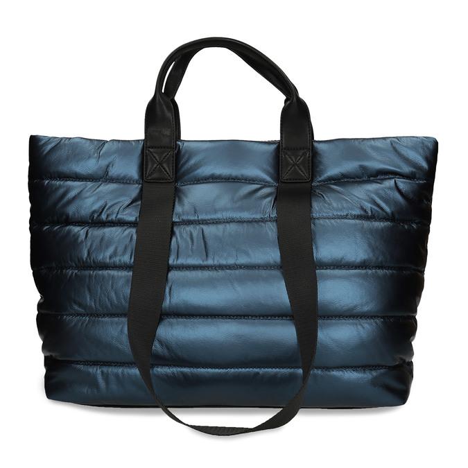 Dámská kabelka v modré metalíze gabor, modrá, 961-9801 - 16