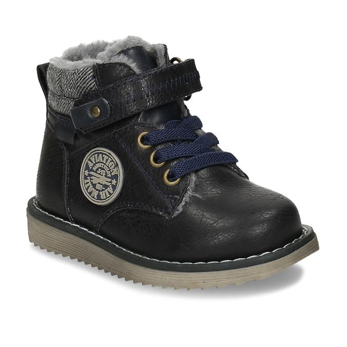 Zimní dětská kotníčková obuv bubblegummers, modrá, 111-9607 - 13