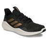 Sportovní tenisky s černým žíháním a zlatými pruhy adidas, černá, 509-6442 - 13