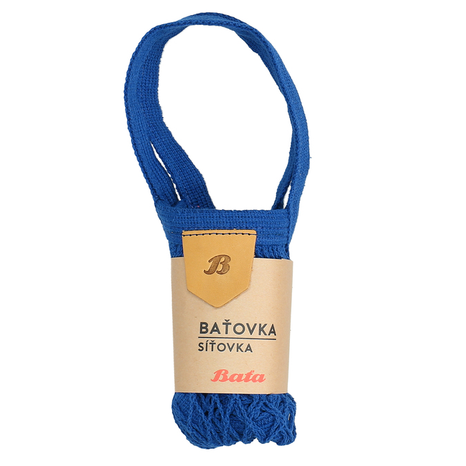 Modrá síťovka bata, modrá, 969-9766 - 13