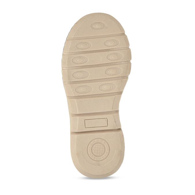 Tmavě hnědá chlapecká zimní kotníková obuv mini-b, hnědá, 211-4618 - 18