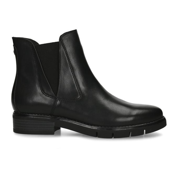 Dámská kožená obuv v Chelsea stylu flexible, černá, 594-6723 - 19