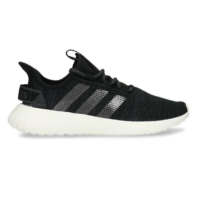 Černé dámské žíhané tenisky adidas, černá, 509-6186 - 19