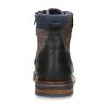 Pánská kotníková obuv v hnědé kůži bata, hnědá, 896-4725 - 15