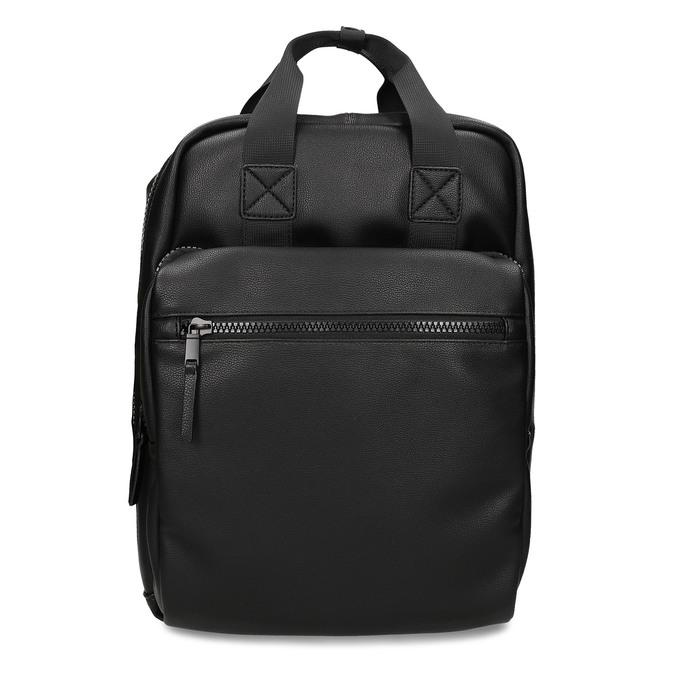 Černý unisex městský batoh bata, černá, 961-6772 - 26