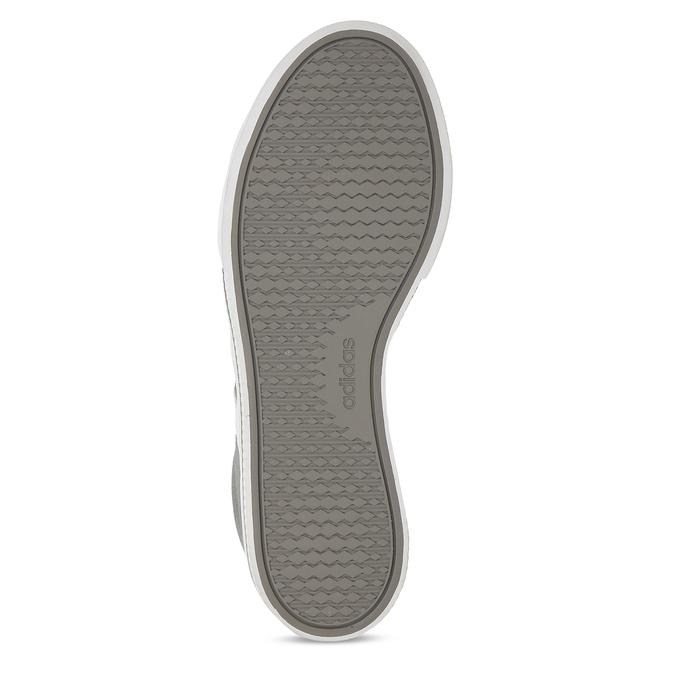 Kožené pánské tenisky v šedobílé variantě adidas, šedá, 803-2372 - 18