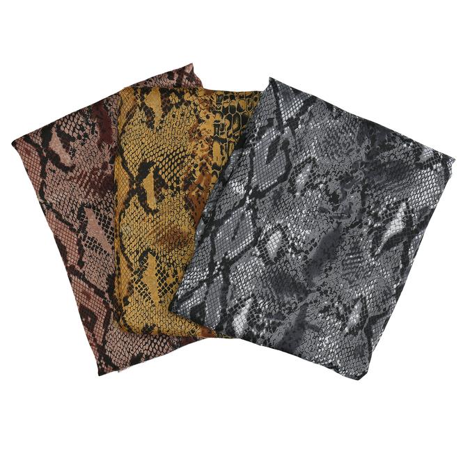 Lehká dámská šála s hadí texturou bata, vícebarevné, 909-0232 - 13