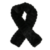 Chundelatá šála v černé, béžové nebo šedé barvě bata, vícebarevné, 909-0540 - 15