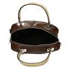 Hnědá kabelka s béžovými uchy bata, hnědá, 961-4642 - 15