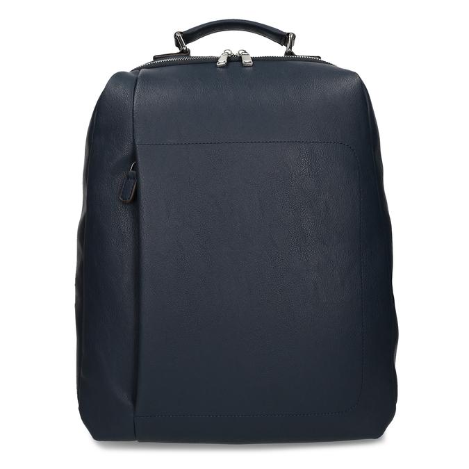 Modrý unisex designový batoh bata, modrá, 961-9777 - 26